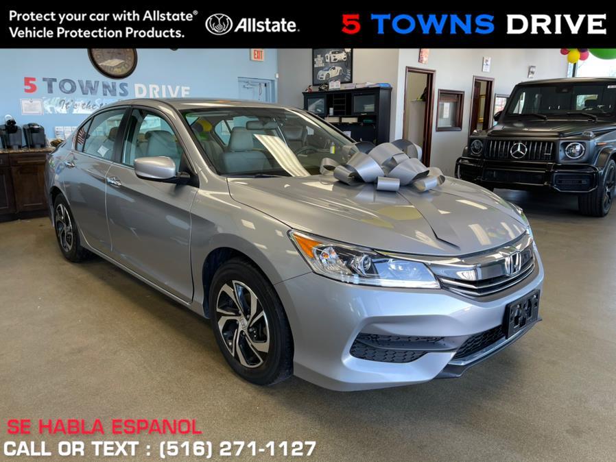 Used Honda Accord Sedan LX CVT 2017 | 5 Towns Drive. Inwood, New York
