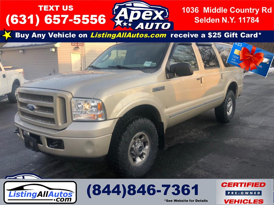 "Used Ford Excursion 137"" WB 6.8L Limited 4WD 2005 