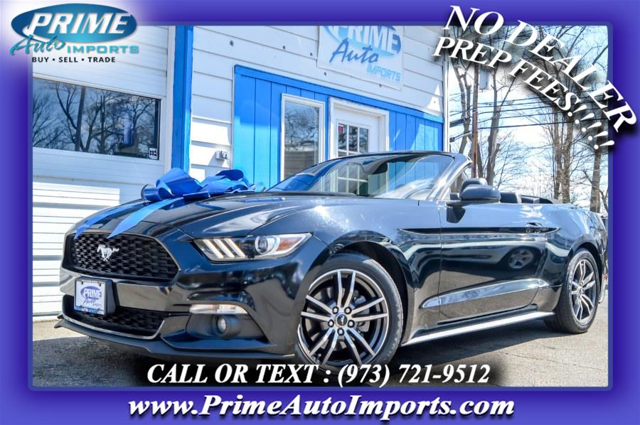 Used Ford Mustang EcoBoost Premium Convertible 2017 | Prime Auto Imports. Bloomingdale, New Jersey
