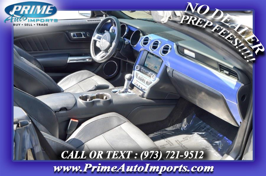 Used Ford Mustang EcoBoost Premium Convertible 2017   Prime Auto Imports. Bloomingdale, New Jersey