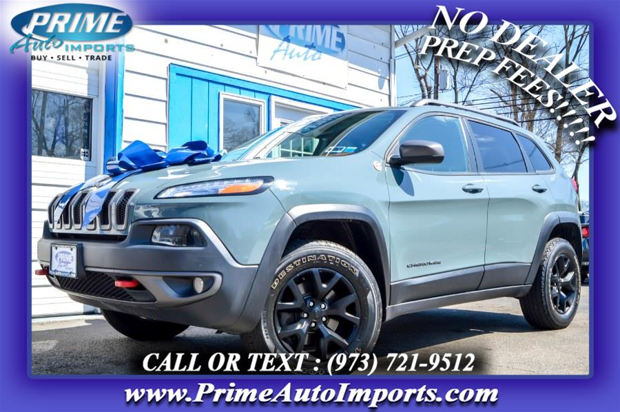Used 2015 Jeep Cherokee in Bloomingdale, New Jersey | Prime Auto Imports. Bloomingdale, New Jersey