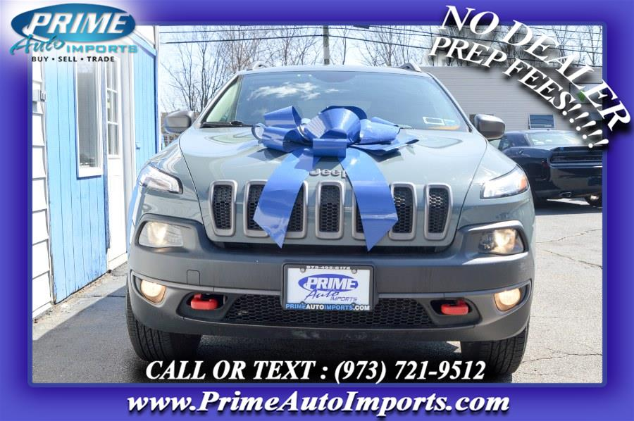 Used Jeep Cherokee 4WD 4dr Trailhawk 2015 | Prime Auto Imports. Bloomingdale, New Jersey