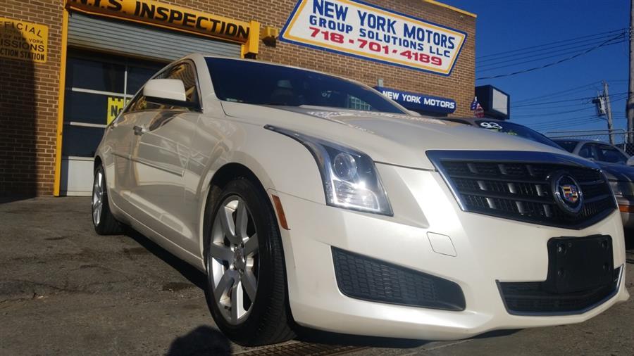 Used Cadillac ATS 4dr Sdn 2.5L RWD 2013 | New York Motors Group Solutions LLC. Bronx, New York