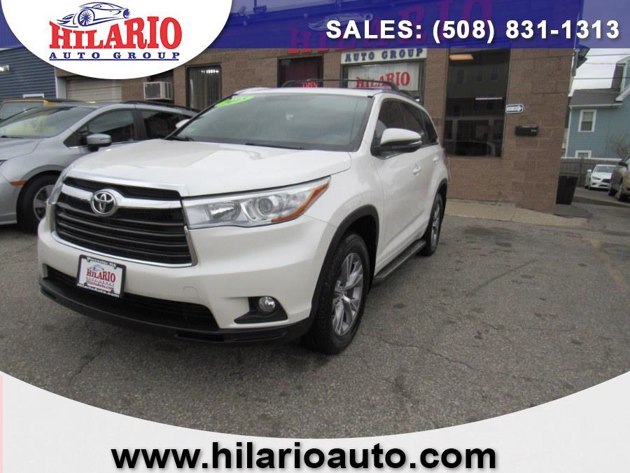 Used 2015 Toyota Highlander in Worcester, Massachusetts | Hilario's Auto Sales Inc.. Worcester, Massachusetts