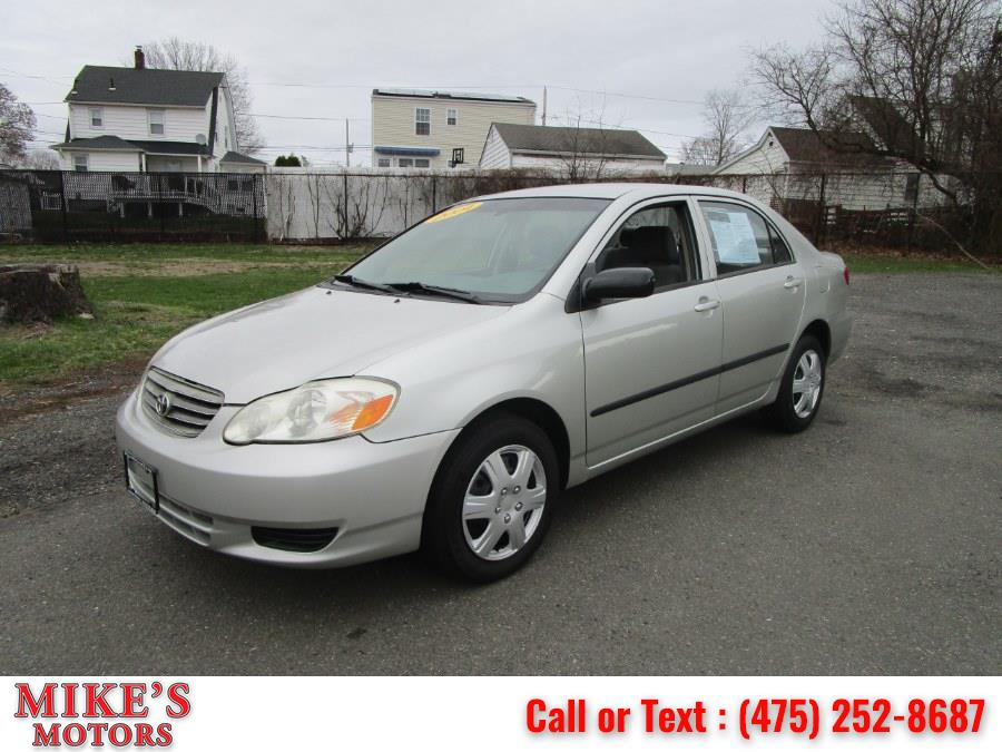 Used 2004 Toyota Corolla in Stratford, Connecticut | Mike's Motors LLC. Stratford, Connecticut