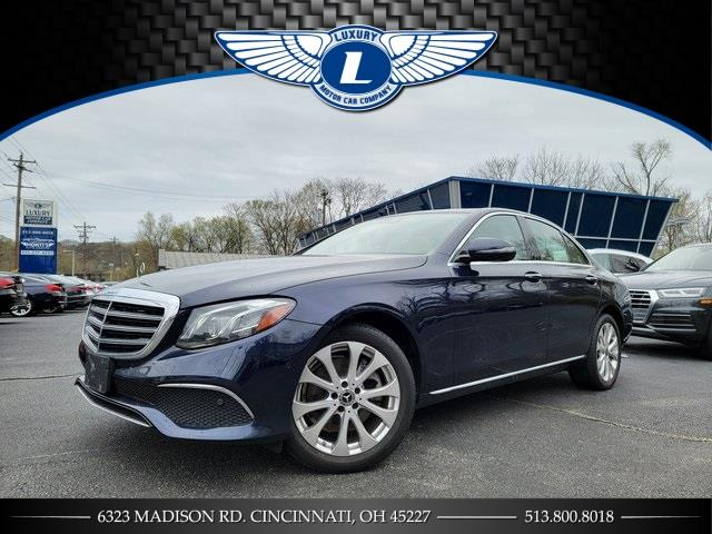 Used 2018 Mercedes-benz E-class in Cincinnati, Ohio | Luxury Motor Car Company. Cincinnati, Ohio