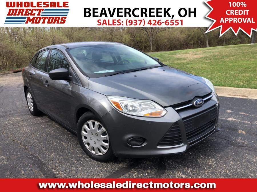 Used Ford Focus 4dr Sdn S 2012 | Wholesale Direct Motors. Beavercreek, Ohio