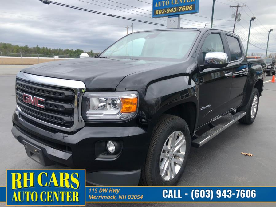 Used GMC Canyon Crew Cab SLT 4WD 2015 | RH Cars LLC. Merrimack, New Hampshire