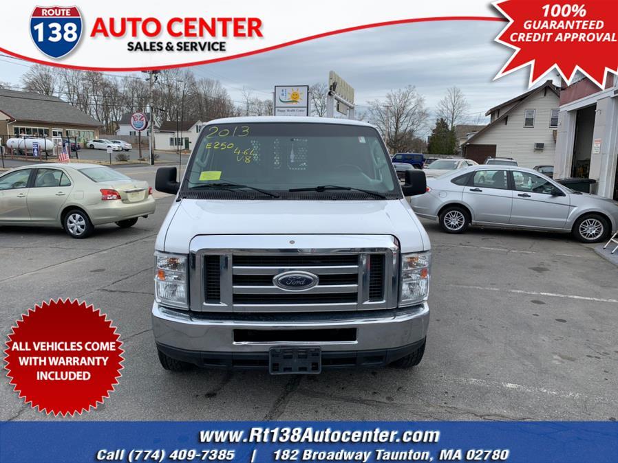 Used 2013 Ford Econoline Cargo Van in Taunton, Massachusetts | Rt 138 Auto Center Inc . Taunton, Massachusetts