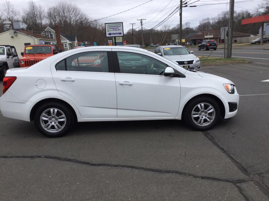 Used Chevrolet Sonic 4dr Sdn LT 2LT 2012 | L&S Automotive LLC. Plantsville, Connecticut