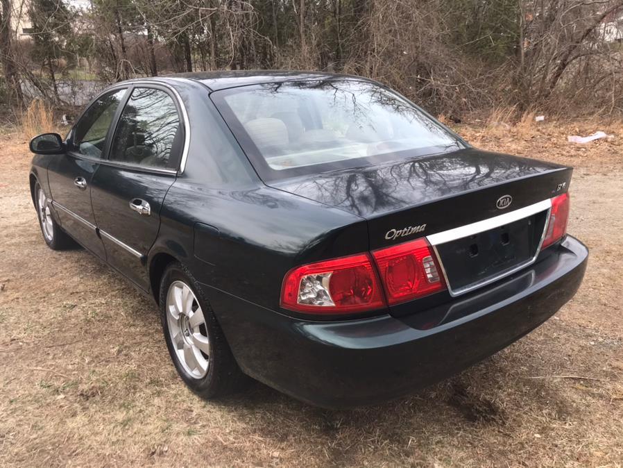 Used Kia Optima 4dr Sdn LX Auto V6 2004 | Elite Auto Brokers LLC. Norwich, Connecticut