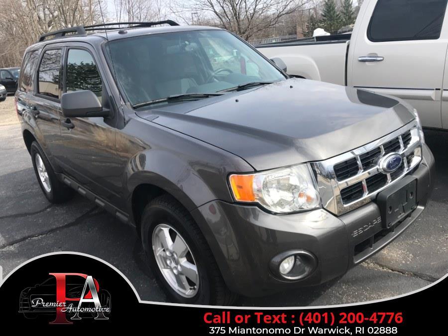 Used Ford Escape FWD 4dr XLT 2012 | Premier Automotive Sales. Warwick, Rhode Island