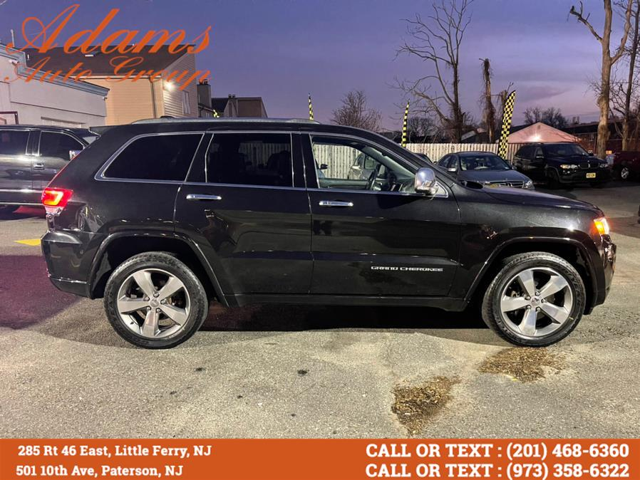 Used Jeep Grand Cherokee 4WD 4dr Overland 2015 | Adams Auto Group . Little Ferry , New Jersey