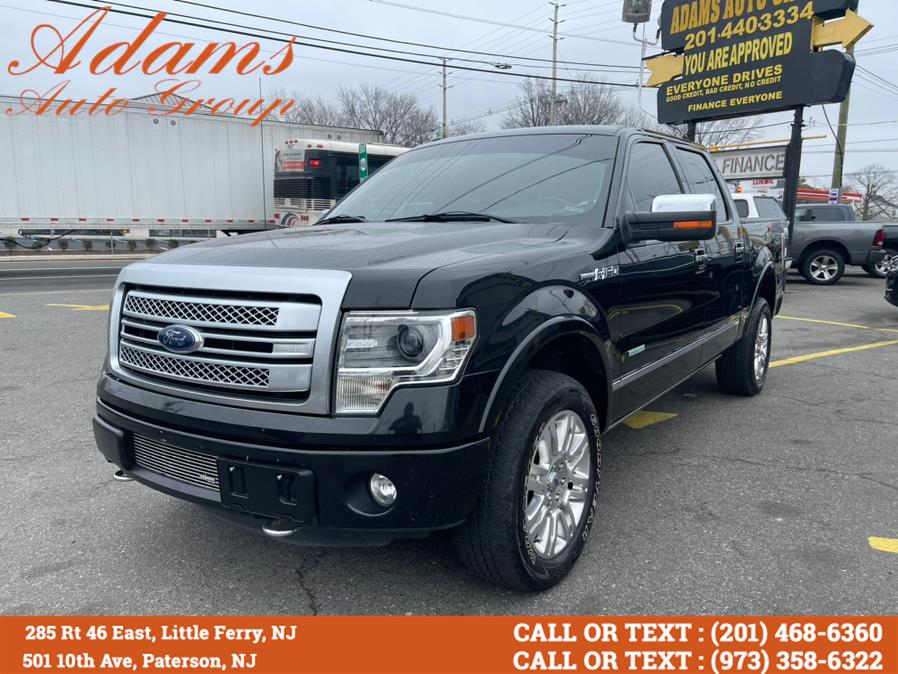 """Used Ford F-150 4WD SuperCrew 145"""" Platinum 2013 
