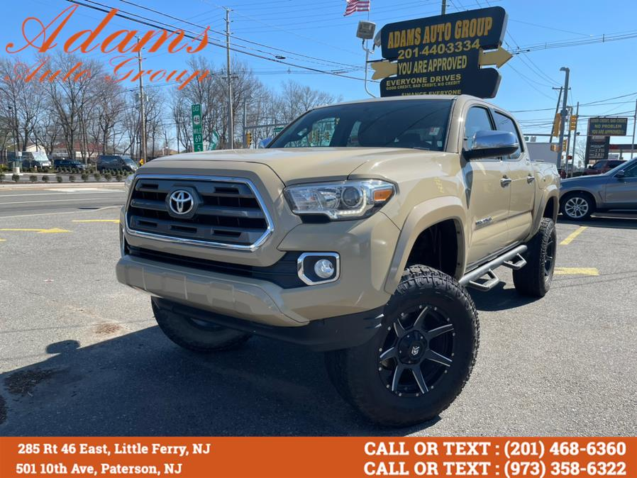 Used Toyota Tacoma 4WD Double Cab V6 AT Limited (Natl) 2016 | Adams Auto Group . Little Ferry , New Jersey