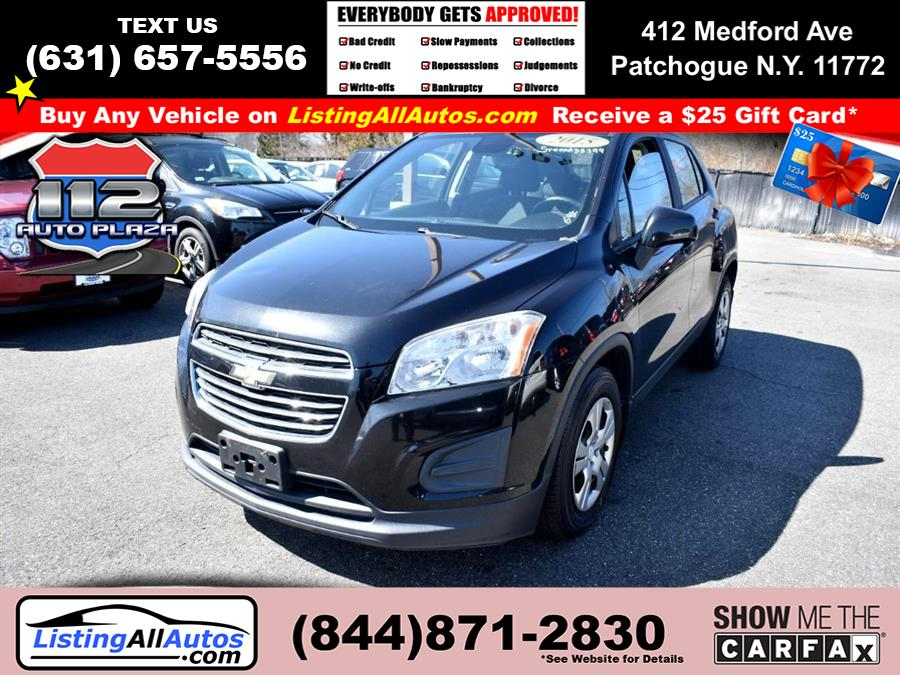 Used Chevrolet Trax FWD 4dr LS w/1LS 2015 | www.ListingAllAutos.com. Patchogue, New York