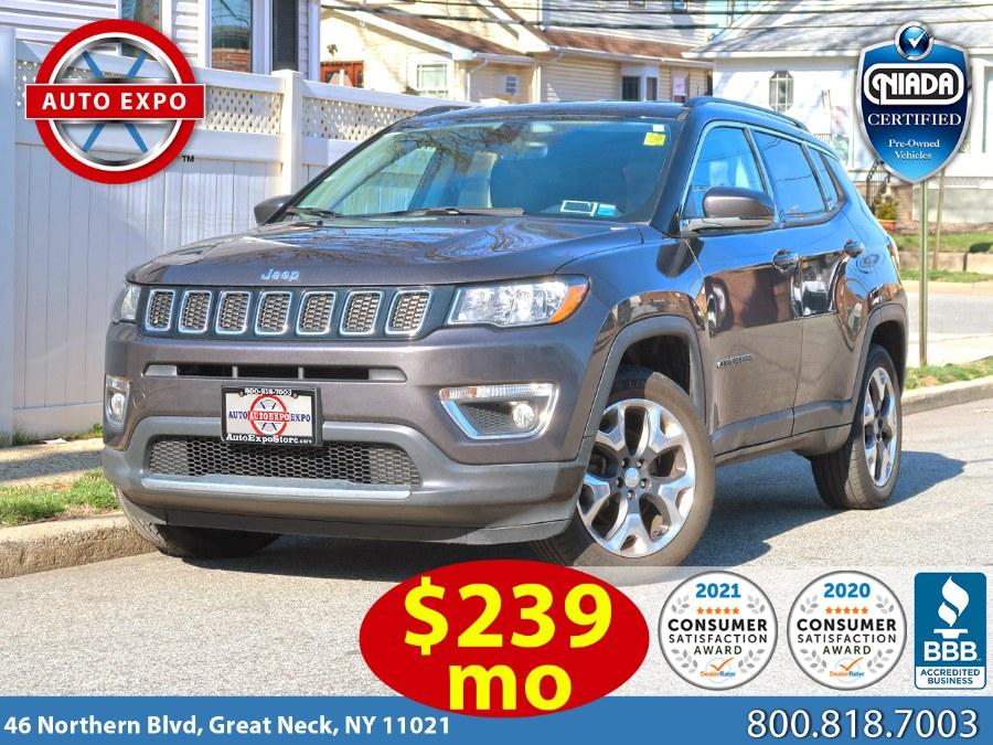 Used 2018 Jeep Compass in Great Neck, New York | Auto Expo Ent Inc.. Great Neck, New York