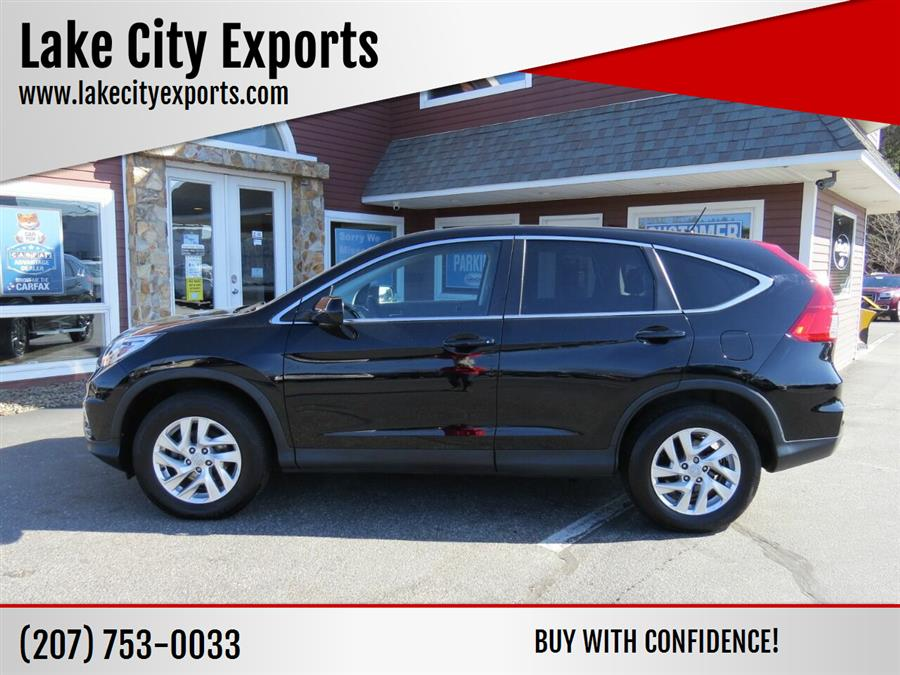 Used Honda Cr-v EX AWD 4dr SUV 2016 | Lake City Exports Inc. Auburn, Maine