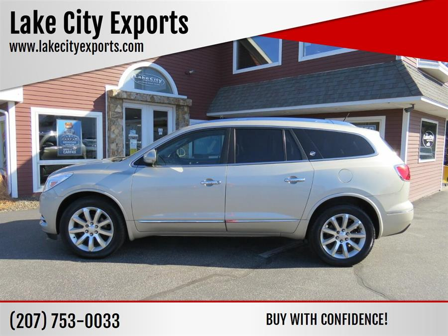Used Buick Enclave Premium AWD 4dr Crossover 2016 | Lake City Exports Inc. Auburn, Maine
