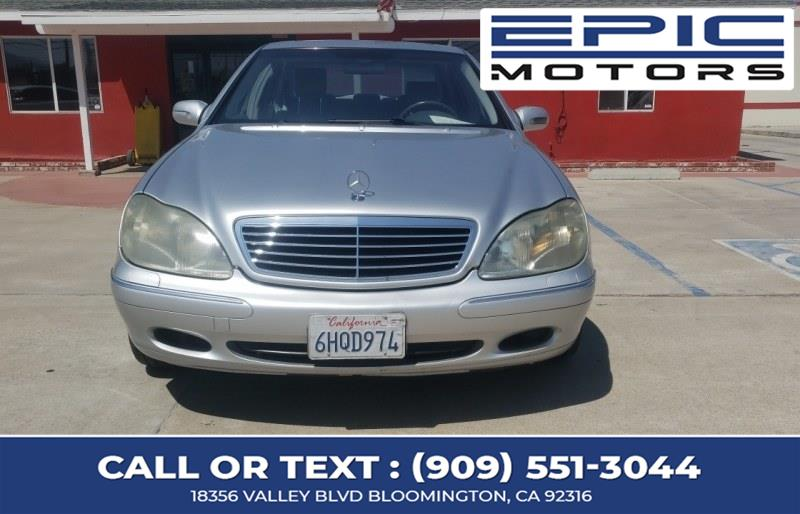 Used 2001 Mercedes-Benz S-430 4dr Sdn 4.3L Mercedes-Benz Used 2001 Mercedes-Benz S-430 4dr Sdn 4.3L for sale in Bloomington, CA In stock
