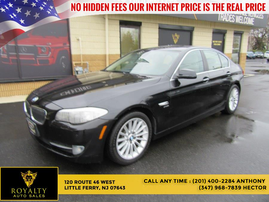 2012 BMW 5 Series 4dr Sdn 535i xDrive AWD, available for sale in Little Ferry, NJ