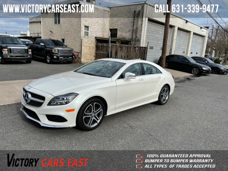 Used Mercedes-Benz CLS-Class 4dr Sdn CLS 400 4MATIC 2015 | Victory Cars East LLC. Huntington, New York