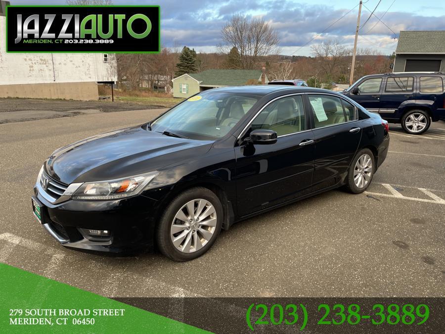 Used Honda Accord Sedan 4dr I4 CVT EX-L 2014 | Jazzi Auto Sales LLC. Meriden, Connecticut
