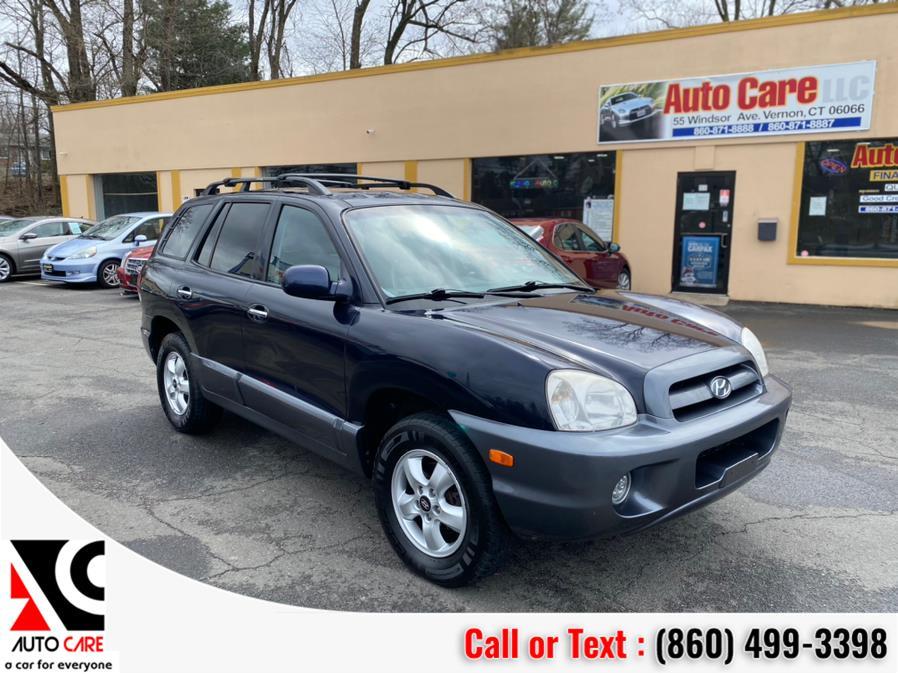 Used 2005 Hyundai Santa Fe in Vernon , Connecticut | Auto Care Motors. Vernon , Connecticut
