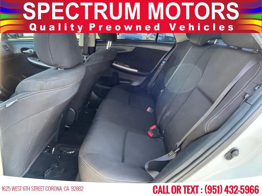 Used Toyota Corolla 4dr Sdn Auto L (Natl) 2013   Spectrum Motors. Corona, California