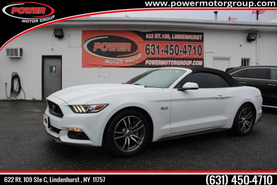 Used Ford Mustang GT Premium Convertible 2017 | Power Motor Group. Lindenhurst , New York