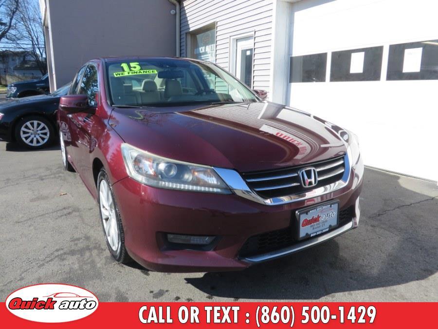 Used 2015 Honda Accord Sedan in Bristol, Connecticut | Quick Auto LLC. Bristol, Connecticut