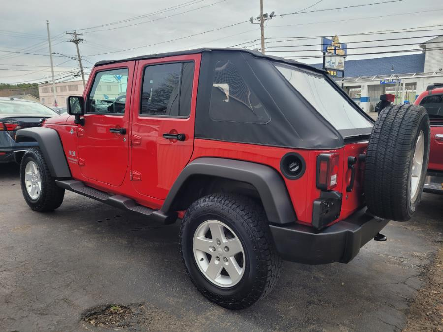 Used Jeep Wrangler 4WD 4dr Unlimited X 2007 | Capital Lease and Finance. Brockton, Massachusetts
