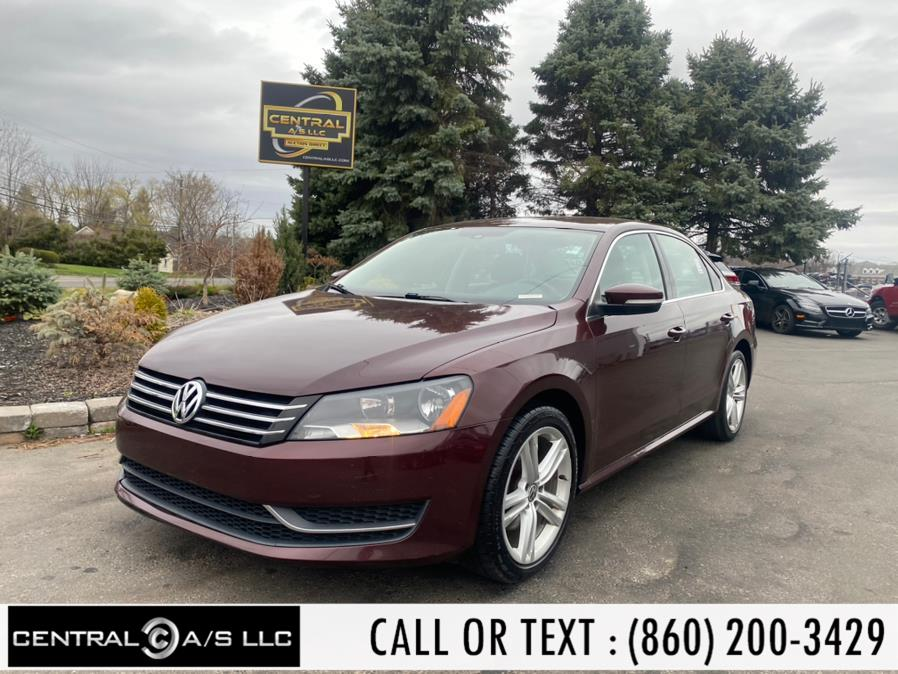 Used Volkswagen Passat 4dr Sdn 2.5L Auto SE w/Sunroof & Nav PZEV 2013   Central A/S LLC. East Windsor, Connecticut