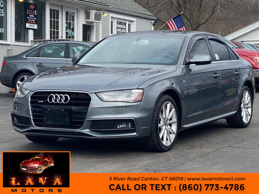 Used 2014 Audi A4 in Canton, Connecticut | Lava Motors. Canton, Connecticut
