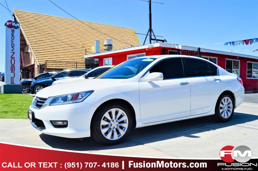 Used 2014 Honda Accord Sedan in Moreno Valley, California | Fusion Motors Inc. Moreno Valley, California