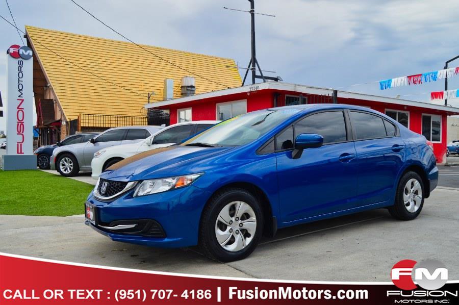 Used 2014 Honda Civic Sedan in Moreno Valley, California | Fusion Motors Inc. Moreno Valley, California