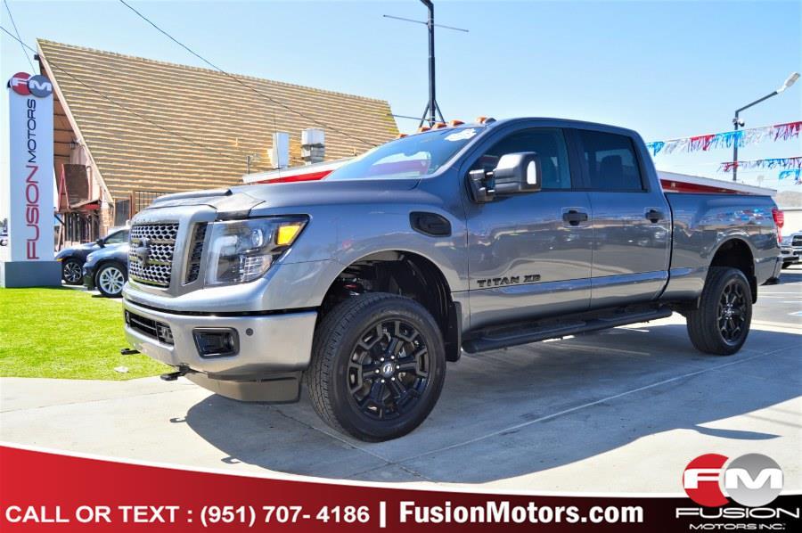 Used 2018 Nissan Titan XD in Moreno Valley, California | Fusion Motors Inc. Moreno Valley, California