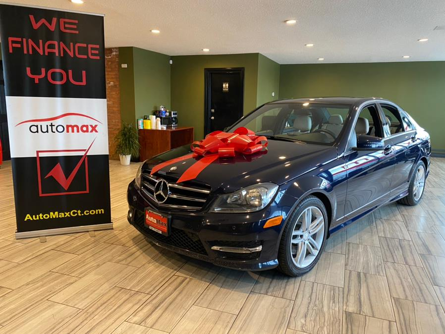 Used Mercedes-Benz C-Class 4dr Sdn C300 Luxury 4MATIC 2014 | AutoMax. West Hartford, Connecticut
