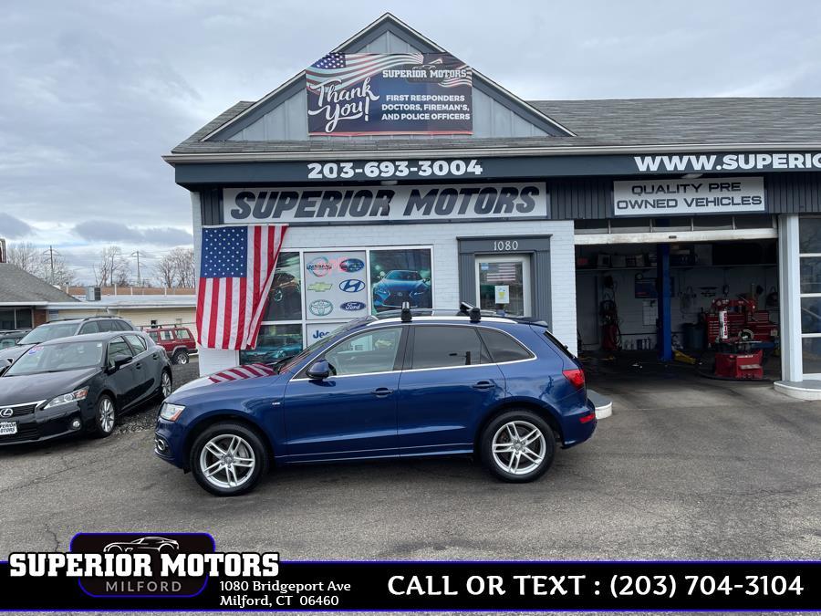 Used 2013 Audi Q5 Q5 PRESTIGE S LINE  AWD in Milford, Connecticut | Superior Motors LLC. Milford, Connecticut