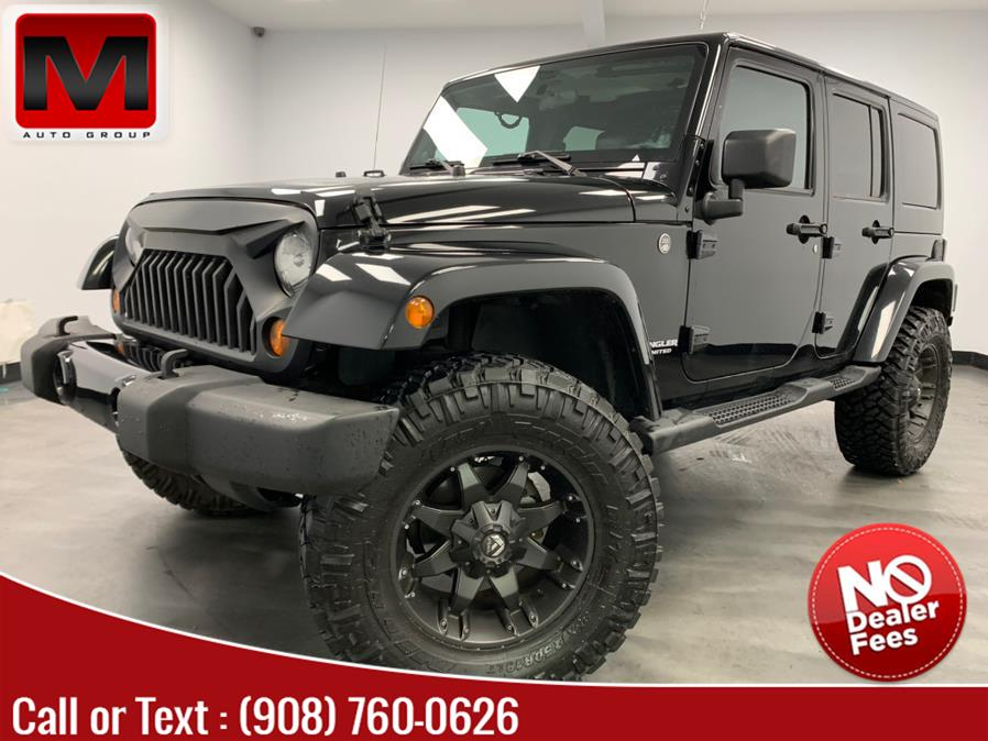 Used Jeep Wrangler Unlimited 4WD 4dr Altitude 2012 | M Auto Group. Elizabeth, New Jersey