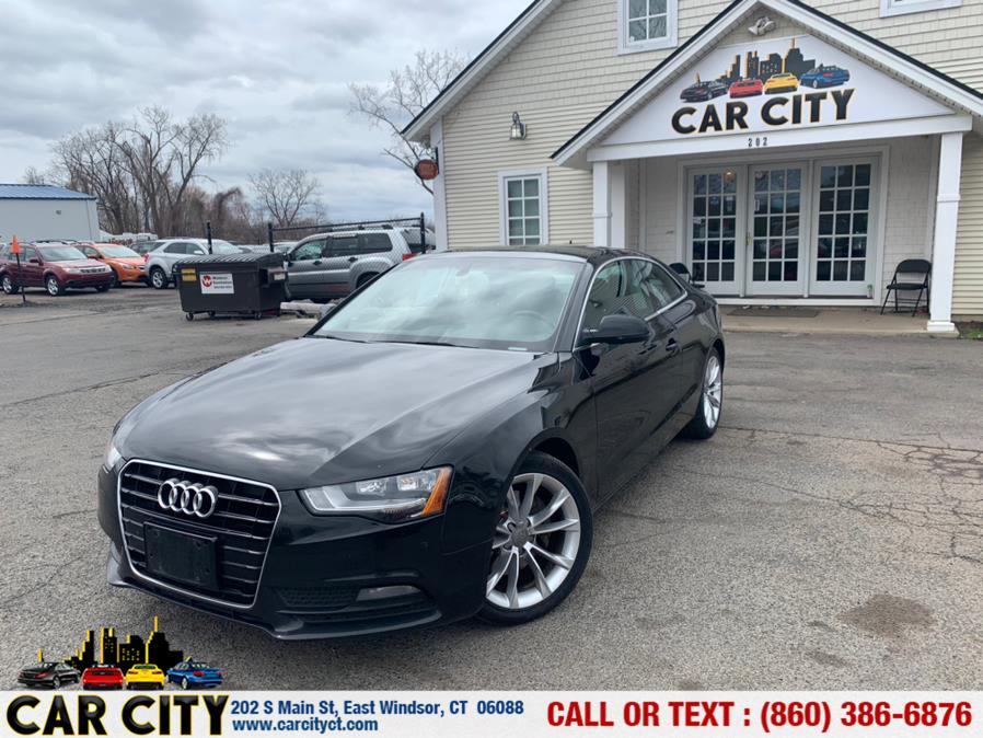 Used Audi A5 2dr Cpe Auto quattro 2.0T Premium 2014 | Car City LLC. East Windsor, Connecticut