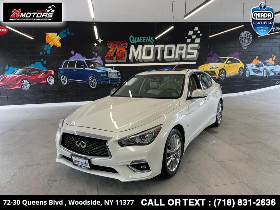 Used 2018 INFINITI Q50 in Woodside, New York | 26 Motors Queens. Woodside, New York