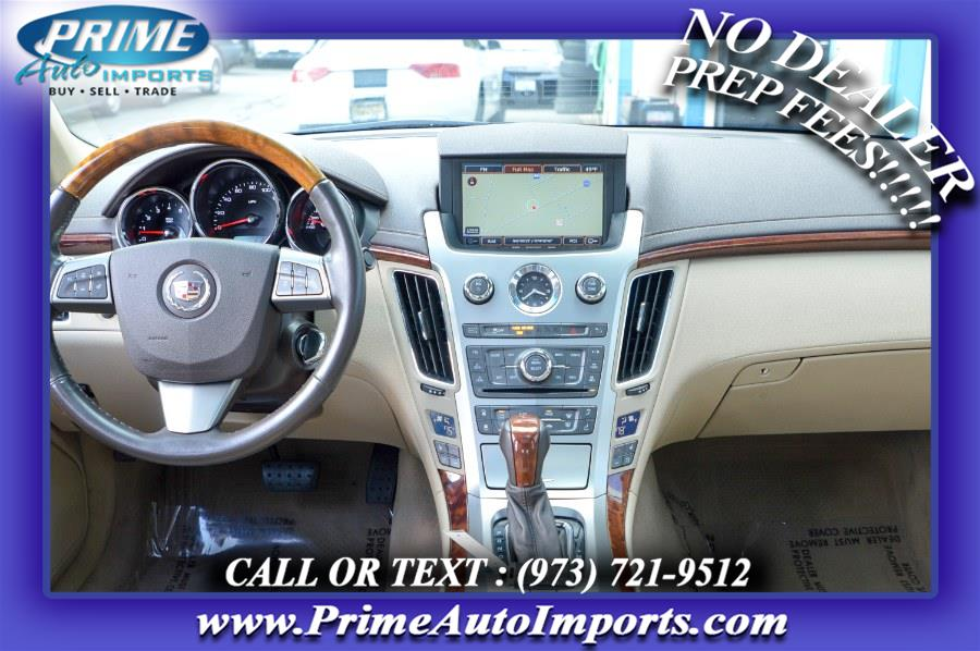 Used Cadillac CTS Sedan 4dr Sdn 3.6L Premium AWD 2012   Prime Auto Imports. Bloomingdale, New Jersey