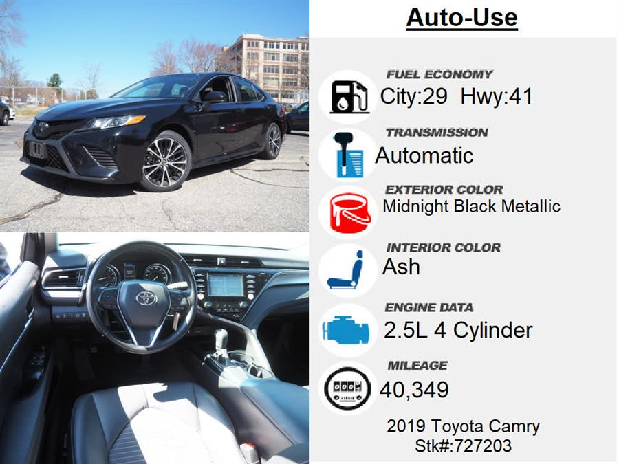 Used Toyota Camry LE 2019 | Autouse. Andover, Massachusetts