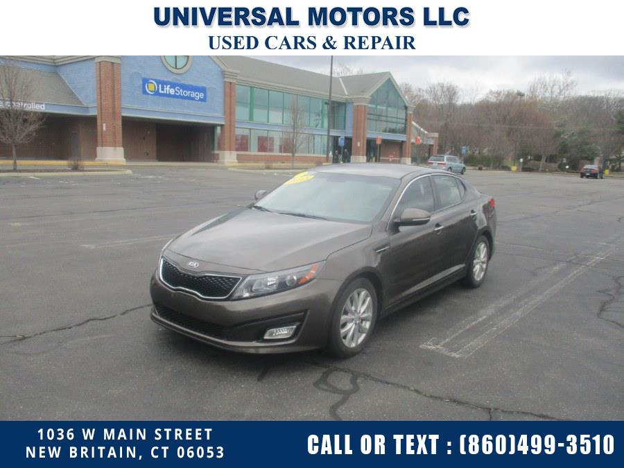 Used Kia Optima 4dr Sdn EX 2015 | Universal Motors LLC. New Britain, Connecticut