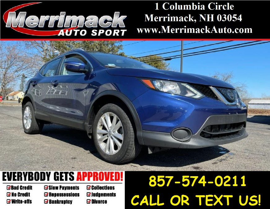 Used 2018 Nissan Rogue Sport in Merrimack, New Hampshire | Merrimack Autosport. Merrimack, New Hampshire