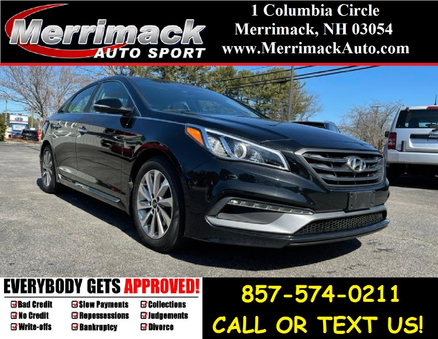 Used 2017 Hyundai Sonata in Merrimack, New Hampshire | Merrimack Autosport. Merrimack, New Hampshire