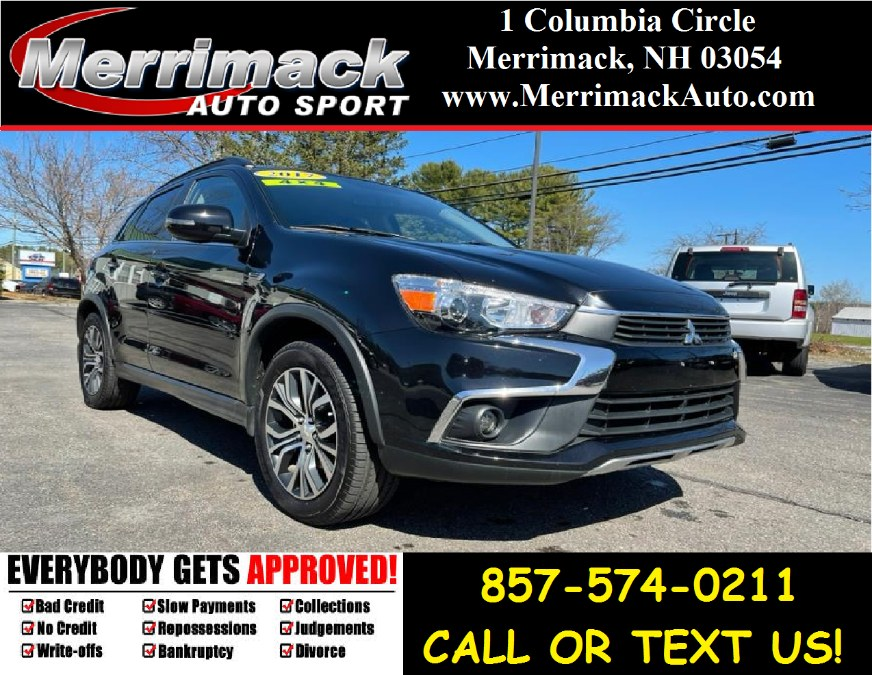 Used 2017 Mitsubishi Outlander Sport in Merrimack, New Hampshire | Merrimack Autosport. Merrimack, New Hampshire