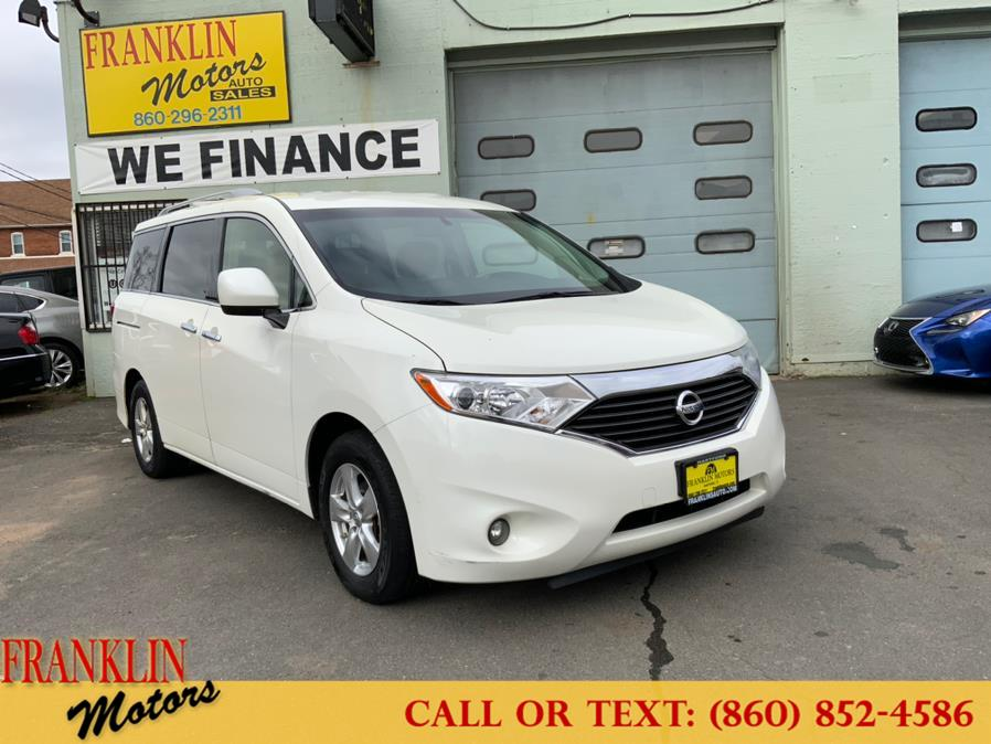 Used 2016 Nissan Quest in Hartford, Connecticut | Franklin Motors Auto Sales LLC. Hartford, Connecticut