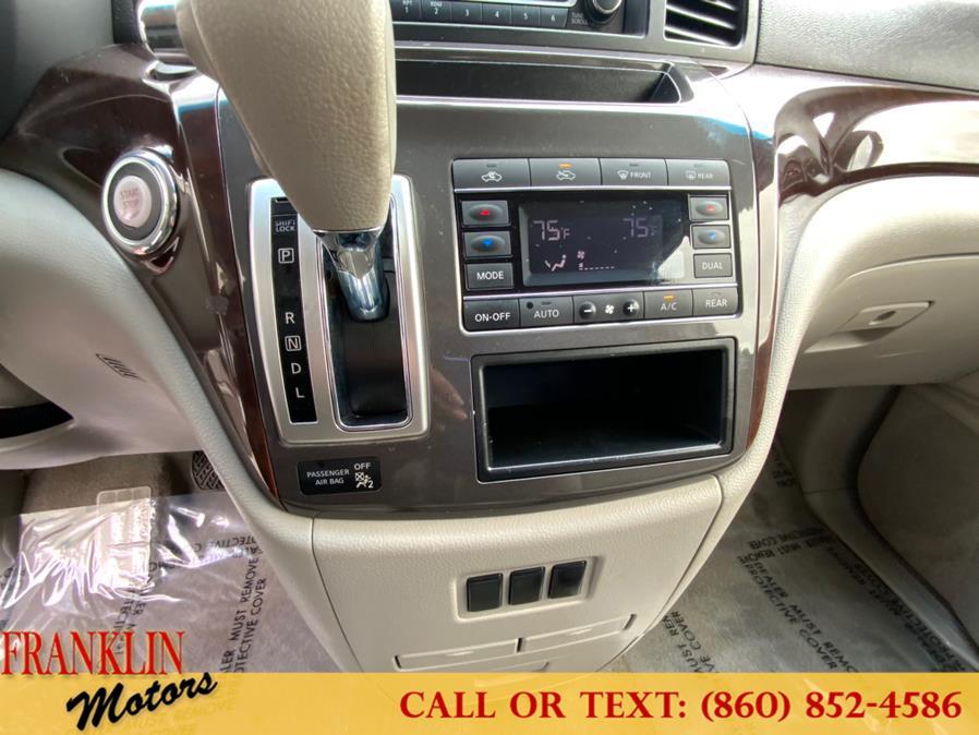 Used Nissan Quest 4dr Platinum 2016   Franklin Motors Auto Sales LLC. Hartford, Connecticut